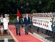 越英发表联合声明 强调进一步加强越英战略伙伴关系