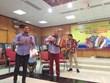 哥伦比亚手风琴艺人来越表演