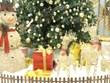 首都人民兴高采烈参加点亮圣诞树活动