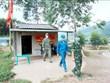 谅山省在边界线搭建近150个24小时值守的临时帐篷