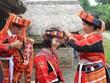 组图:富有民族传统文化特色的巴天族婚礼