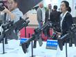 越南代表团参观首尔国际航空航天暨军工业展览会