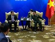 越南国防部部长吴春历大将会见东盟秘书长及柬埔寨副首相兼国防部大臣