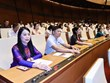 越南国会继续开展人事任免工作