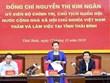 越南国会主席阮氏金银访问太平省