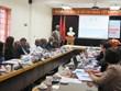 科特迪瓦政府工作代表团参观访问太原示范大学