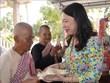 高棉族同胞欢庆2019年传统新年