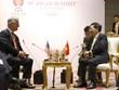 第35届东盟峰会:政府副总理兼外长范平明会见美国国家安全顾问