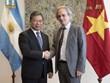 越南共产党代表团对乌拉圭和阿根廷进行工作访问