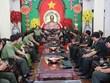 柬埔寨王家军警卫司令部向芹苴市领导致以新春祝福