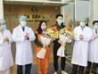 新冠肺炎疫情:越南中央热带疾病医院新增两名治愈患者出院