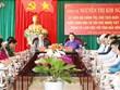 越南国会主席阮氏金银与得农省主要领导干部举行工作座谈会