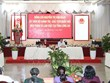 越南国会主席与隆安省主要领导举行工作会谈