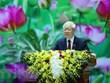越共中央总书记、国家主席阮富仲致信祝贺水文气象传统日75周年