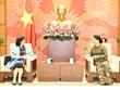越南国会主席阮氏金银会见古巴和俄罗斯驻越大使