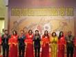 越南传统民间绘画展开展