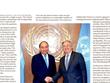 《华盛顿时报》:越南日益肯定其在全球事务中的作用