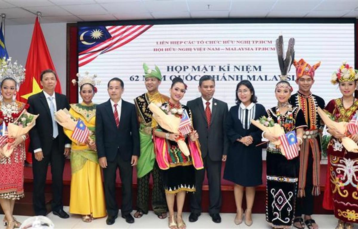 纪念马来西亚国庆62周年见面会在胡志明市举行