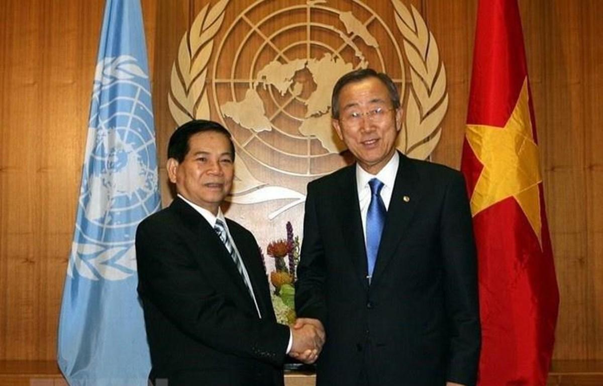 越南加入联合国42周年:扬帆出海