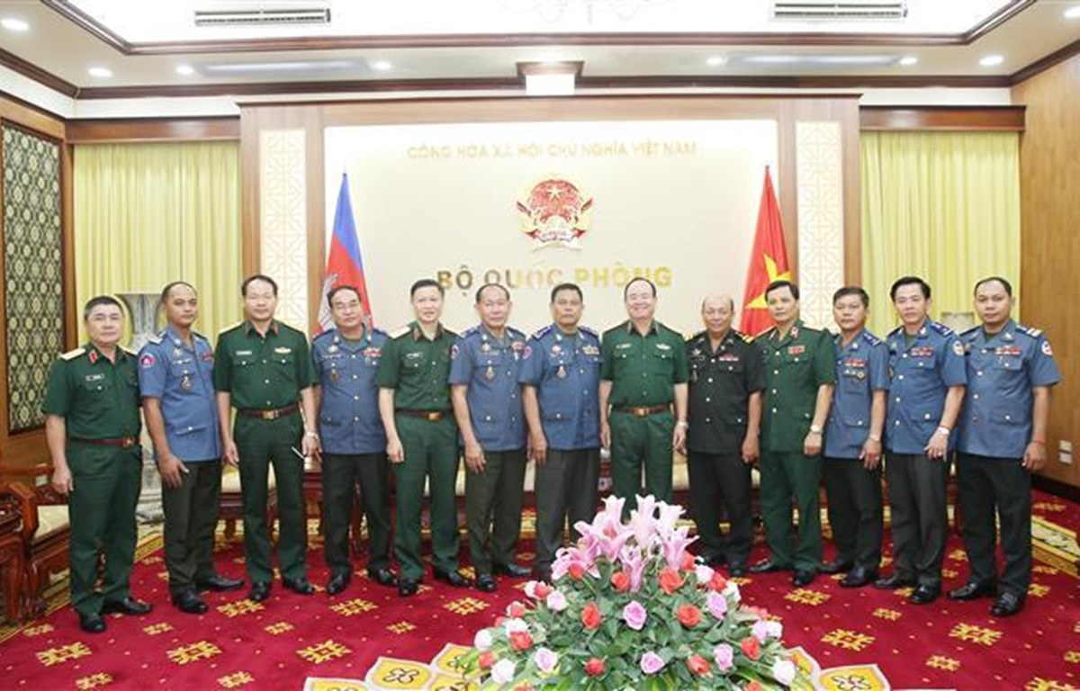 越柬军队进一步加大合作力度