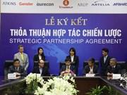 越南Vin集团与世界八个一流集团签署战略合作协议