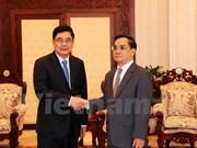 老挝总理高度评价越老农林合作关系