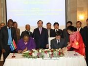 越南与南非加强科学技术合作
