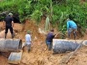 集中应对和克服暴雨洪涝灾害后果