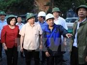 阮春福副总理:绝不让受灾群众受饥挨饿和染上疾病