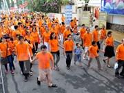 越南各地举行多项活动纪念越南橙剂受害者日