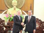 加拿大希望与越南九龙江三角洲地区扩大贸易合作
