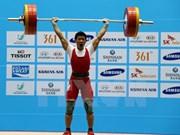 2015年全国举重锦标赛吸引124名运动员参赛