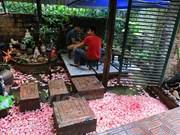 探索地处河内首都中心的一家独特村型饭店