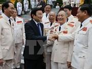 张晋创主席:加强公安力量建设出色完成党、国家和人民所赋予的任务