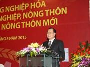 越南加速推进农业与农村工业化、现代化进程