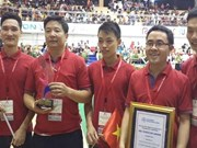 越南第五次勇夺亚太大学生机器人大赛冠军