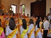 旅居泰国越南人努力发挥盂兰节的人文价值