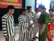 特赦体现越南国家人道政策的优越性