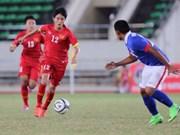 2015年东南亚U19足球锦标赛:越南队与马来西亚队握手言和