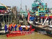 一艘前往印尼偷渡船在马来西亚海域沉没至少14人死亡