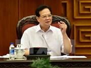 阮晋勇总理:力争达到和超额完成今年的社会经济指标