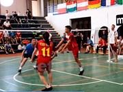 第八届世界毽球锦标赛:越南毽球队夺得两金一银