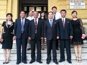 越南与朝鲜加强工会合作