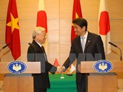 越日发表两国关系发展愿景联合声明