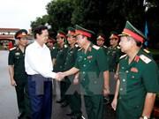 越南政府总理阮晋勇在第四军区调研