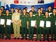 参加联合国维和行动的医师队伍英语培训班结业