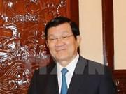张晋创主席启程赴美出席联合国发展峰会和出访古巴