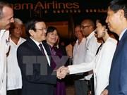 越南国家主席张晋创对古巴进行正式访问
