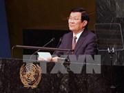 越南国家主席张晋创会见美国商务代表弗罗曼