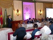 张晋创主席出席越南—古巴企业论坛